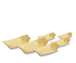 GREENMARK PINE BOAT SMALL -115 X 65 - 2000-CTN