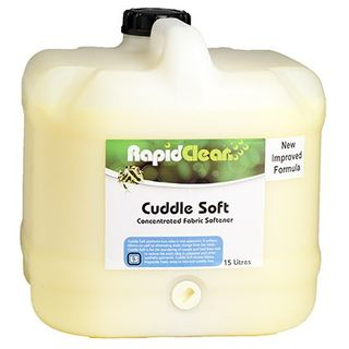 RAPID CLEAN CUDDLE SOFT (FABRIC SOFTENER) - 15L