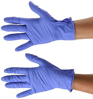 MEDICOM VULCAN INDIGO BLUE NITRILE PF GLOVES - MEDIUM - 1000 - CTN