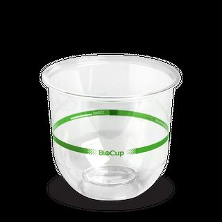 BIOPAK 360ml Tumbler Clear Cup - 50 - SLV ( Q-360 )