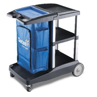 OATES PLATINUM HOUSEKEEPING CART - COMPACT -(JC-3100C / 165538) - EACH