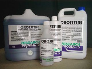 PRINTED RESEARCH BOTTLE - CROSSFIRE -500ML - EACH
