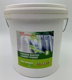 BIO-GREEN PEROXIDE BOOSTED LAUNDRY POWDER - BUCKET - 10KG
