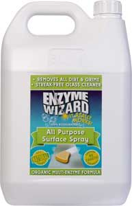 ENZYME WIZARD ALL PURPOSE SURFACE SPRAY - 5L
