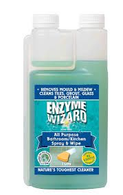 ENZYME WIZARD MULTI-PURPOSE BATHROOM / KITCHEN - REMOVES MOULD & MILDEW - 1L CHAMBER PACK