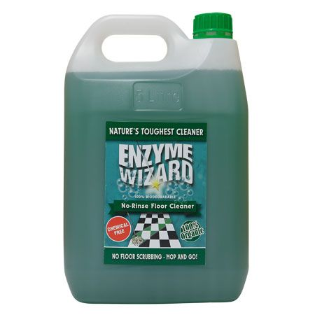 ENZYME WIZARD NO RINSE FLOOR CLEANER - 5L