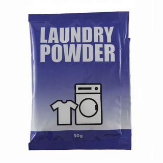LAUNDRY POWDER SACHET 50GRM ( AA BLUE SACHET ) - 150 - CTN
