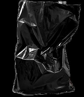 LADY SANITARY BIN LINER 45UM - BLACK -CTN -500