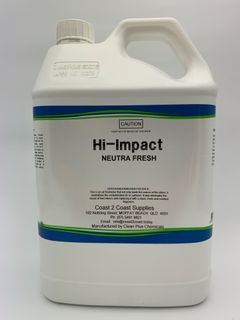 HI - IMPACT NEUTRA FRESH (WATERBASED ODOUR ABSORBER AND AIR FRESHENER) - 5L