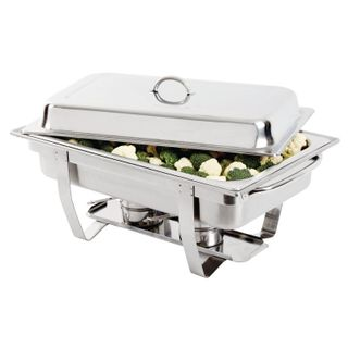 OLYMPIA MILAN CHAFING DISH GN 1/1 STAINLESS STEEL - K409