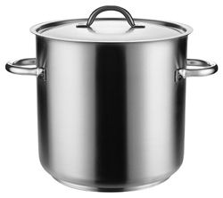 PUJADAS INOX-PRO STOCK POT 10LT WITH LID - P208-024 - EA