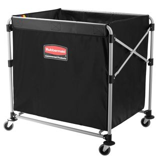 RUBBERMAID COLLAPSIBLE X-CART 300L ( 953MM L x 612MM W x 865MM H ) - EACH