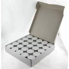 ALPEN LUME TEA LIGHT CANDLES 5 HR ( 420105 ) - 50 - SLV