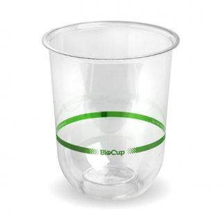 BIOPAK 500ml Tumbler Clear Cup - 1000 - CTN ( Q-500 )