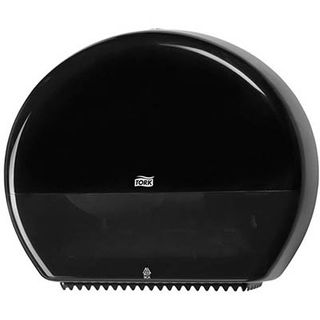 TORK JUMBO TOILET ROLL DISPENSER T1 BLACK - 554038 - EACH