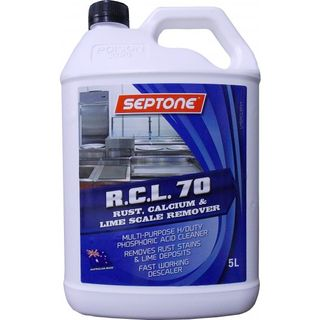 SEPTONE RCL 70 RUST, CALCIUM & LIME SCALE REMOVER - HSRCL5 - 5L