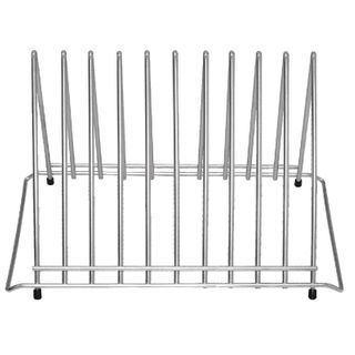 HYGIPLAS HEAVY DUTY CHOPPING BOARD RACK - 10 SLOTS ( DP037 ) - EACH