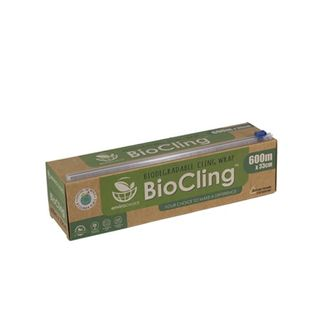 ENVIRO CHOICE BIOCLING CLING WRAP DISPENSER - 33CM X 600M - ROLL