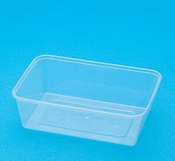 BONSON BS 750 RECTANGULAR CONTAINER - 50-SLV