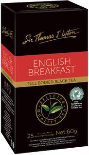 SIR THOMAS LIPTON ENGLISH BREAKFAST TEA - ENVELOPES 25s ( 6 PACKS X 25 / PACK ) - 150 - CTN