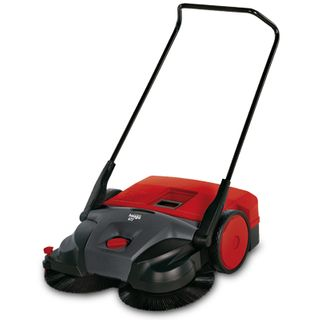 HAAGA 477 MANUAL INDUSTRIAL SWEEPER - 77CM WIDTH & 50L BIN CAPACITY - HAA477 - EACH