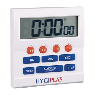 HYGIPLAS BIG TIME ELECTRONIC TIMER - 4 TIMER SETTINGS - CF916 - EACH