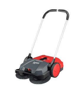 HAAGA 355 MANUAL INDUSTRIAL SWEEPER - 55CM WIDTH & 20L BIN CAPACITY - HAA355 - EACH