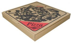 "15"" BROWN PIZZA BOXES - 100 - PKT"