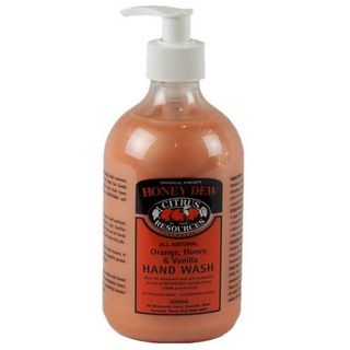 "Citrus Resources "" HONEYDEW "" Orange Honey Vanilla Hand Cleaner  - 500ML X 12 -CTN"
