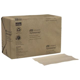 TORK XPRESSNAP N4 NATURAL DISPENSER NAPKINS ( DX 906E ) - 500 - PKT