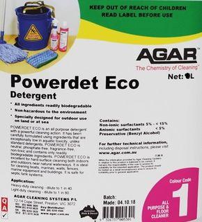 AGAR POWERDET ECO -20L
