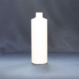 500ML STRAIGHT SIDED BOTTLE - WHITE ( 28MM ) - EACH