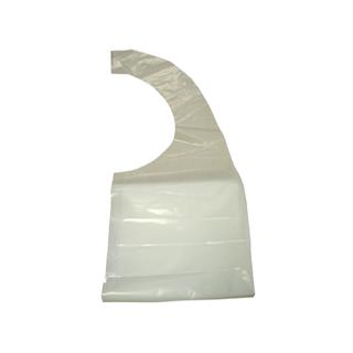 AEROSHIELD DISPOSABLE APRON - WHITE 81cm x 132cm - 100 - PACK