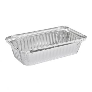 MARINUCCI FOIL 550ML RECTANGULAR SHALLOW TRAY, 171X96X36, ( 18-MRE503 ) ( 7219 / 445 ) - 125 - SLV