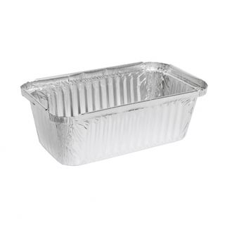 MARINUCCI FOIL 750ML RECTANGULAR DEEP TRAY, 172X97X53, ( 18-MRE505 ) ( 7119 / 446 ) - 125 - SLV