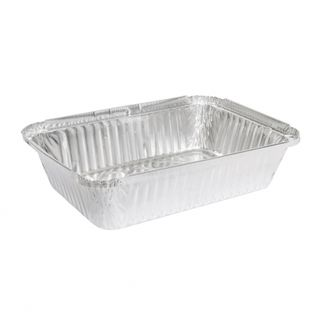 MARINUCCI FOIL 1060ML RECTANGULAR TRAY, 202X136X45, ( 18-MRE511 ) ( 7421 / 442 ) - 125 - SLV