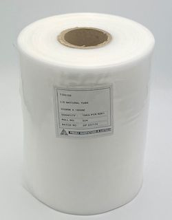 L/D NATURAL POLYTUBE 300MM X 100MM - 180M / 10KG -ROLL