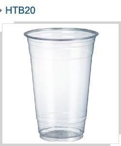 HONOR CLEAR PLASTIC CUP - 20oz / 605ml - 50 - SLV