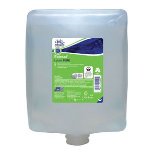 DEB ESTESOL LOTION PURE WASH ( PUW4LTR ) PERFUME DYE FREE - 4L X 4 - CTN