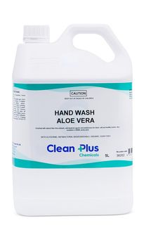 CLEAN PLUS HAND WASH ALOE VERA ANTI-BACTERIAL - 5L