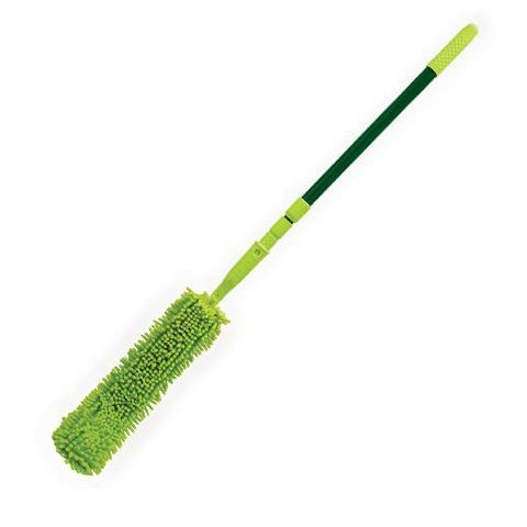 SABCO FLEXIBLE MICROFINGERS DUSTER WITH EXTENDABLE HANDLE - EACH