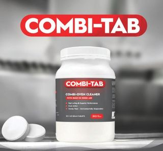 COMBI-TAB COMBI OVEN CLEANER DUAL ACTION TABS - 2KG TUB