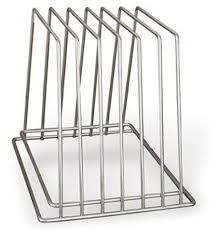 TRENTON CUTTING BOARD RACK 6 SLOT - 40309