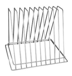 TRENTON CUTTING BOARD RACK 10 SLOT - 40310