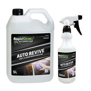 RAPID CLEAN AUTO REVIVE VINYL & DASH REJUVENATOR - 5L