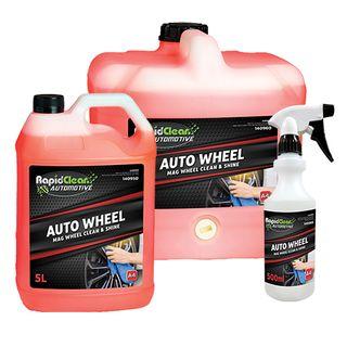 RAPID CLEAN AUTO WHEEL MAG WHEEL CLEAN & SHINE ( A4 ) - 5L
