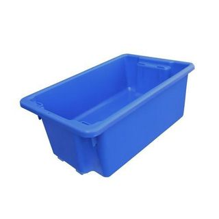 NALLY CRATE / BIN 52L NO.10 - BLUE (IH051BLUE) - EACH