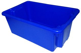 NALLY CRATE / BIN 13.5L NO.4 - BLUE (IH089BLUE) - EACH