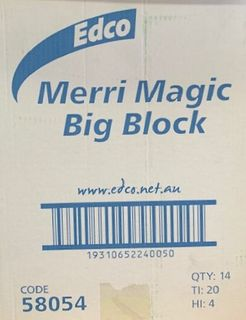 EDCO MERRI MAGIC BIG BLOCK ERASER ( 58054 ) - 14 - CTN