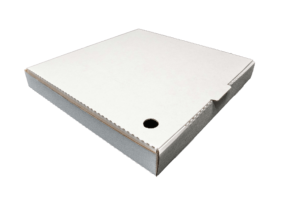 """11"""" WHITE PIZZA BOXES - 100 - PKT"""